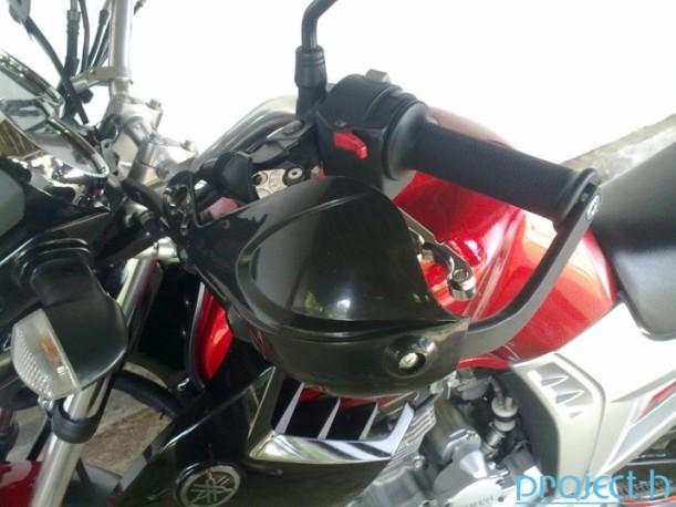 Pasang Handguard Yamaha Scorpio